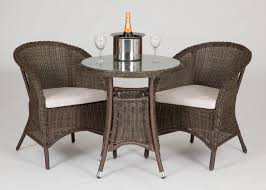 wicker bistro chairs. Simple Bistro Riverdale 2 Seat Bistro Rattan Garden Set With High Table To Wicker Chairs R