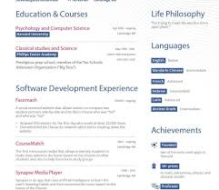 Free Online Resume Templates Cv Template Design Download Infographic