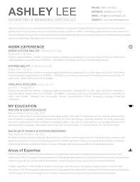 best 1 page resume or 2 gallery resume templates ideas