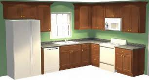 Kitchen Cabinet Layout Planning A With New Cabinets Ideas Design Trends  Brown Cabinetry White Panel Appliances Also Marble Flooring Tile Green