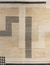over sized marion dorn inspired deco rug n11819