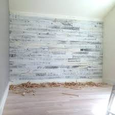 whitewashed wood wall west elm decor reclaimed weathered gold sq ft home carved whit