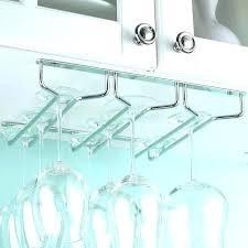 stemware rack ikea wine glass rack under cabinet kitchen stuff plus under cabinet wine glass rack