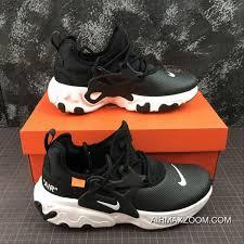 nike presto react leather set foot running shoes av2605 101 size