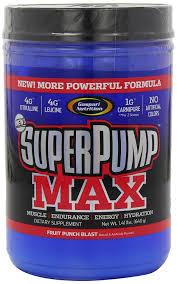 amazon gaspari nutrition super pump max fruit punch 1 41 pounds health personal care