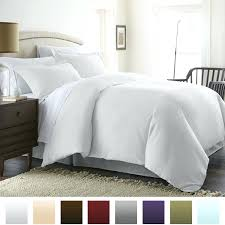 white duvet cover 1 beckham hotel collection luxury soft brushed 1800 series microfiber duvet cover set