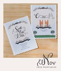 downloadable save the date templates free free printable save the date cards