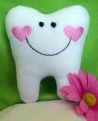 Tooth Fairy Pillow Personalized Tooth Fairy Pillow