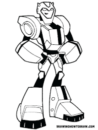 Transformer Bumblebee Coloring Pages Printable Transformer Coloring