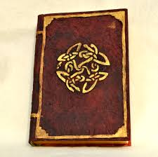 new fake leather cover on an ugly old book