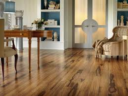 rustic home office laminated floor
