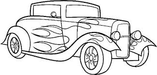 Race Car Coloring Pages Printable Free Coloring Source Kids