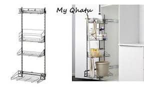 Image Is Loading Ikea Utrusta Pull Out Storage Rack For Cleaning