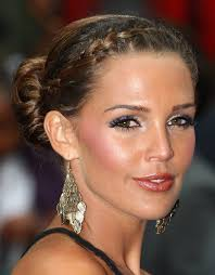 French Braid Updo Hairstyles 10 Chic Braided Hairstyles Blissfully Domestic