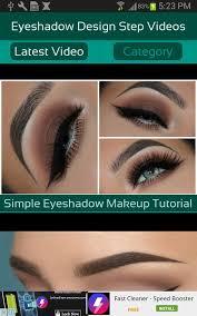 eyeshadow design step videos poster eyeshadow design step videos screenshot 1