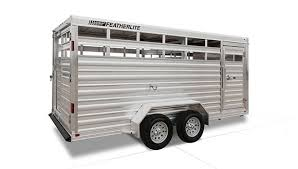bumper pull livestock trailers 8107 livestock trailer model 8107 bumper pull stock trailer curbside rear