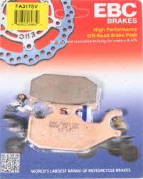 Brake Pad Cross Reference Chart Ebc Sv Sintered Severe Duty Brake Pads