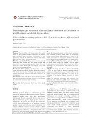 PDF) Miyofasiyal Ağri Sendromu Olan Hastalarda Obezitenin Uyku Kalitesi ve  Günlük Yaşam Aktiviteleri Üzerine Etkisinin Değerlendirilmesi