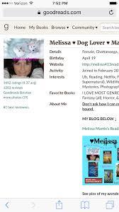 Melissa Martin\u0027s Reading List \u0026 Ramblings : May 2016