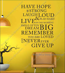 Dream Hope Quotes Best of Hope Quotes Wall Words