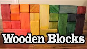 DIY <b>Wooden Blocks</b> ~ Easy <b>Wood Toy</b> - YouTube