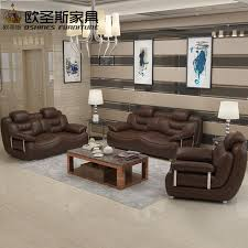 2019 new design italy modern leather sofa soft comfortable livingroom genuine leather sofa real leather sofa set 321 seat 663a
