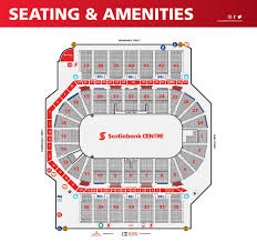 Td Bank Center Seating Chart Inside The Centre Scotiabank Centre