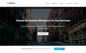 Business Portfolio Template Medigo Free Responsive Professional Business Portfolio