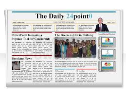 Newspaper Powerpoint Template Adorable Editable PowerPoint Newspapers Template