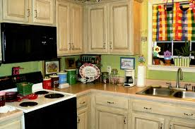 Kitchen Country White Ideas With Countertop Small Cabinets