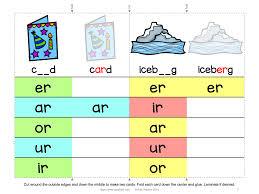 Live worksheets worksheets that listen. R Controlled Vowels Clip Cards And Worksheet Freebie Spark Esl