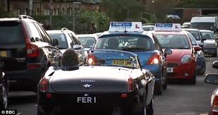 The ferrari 458 was definitely extreme and a fun vehicle to drive. Top Gear In New Fakery Row As Traffic Jam Is Staged While James May Claims These Are Real Roads With Real Traffic Daily Mail Online