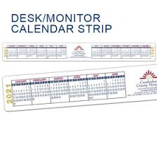 Select the paper size of the monthly by clicking on the desired button Computer Desk Calendar Strips