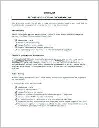 Verbal Warning Sample Verbal Warning Template Nz For Probation Termination Skincense Co