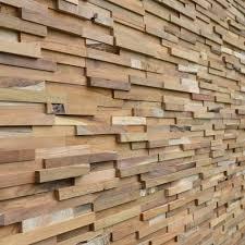 3d wooden cladding natural wood