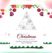 Business Christmas Card Template Email Christmas Cards Templates Aconcept Co