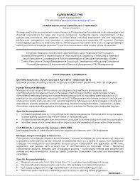 Human Resource Generalist Resume Human Resource Generalist Resume Entry Level Sample Vesochieuxo 6