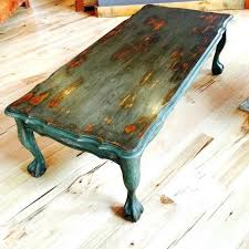 vintage painted coffee table rustic py by diy ideas