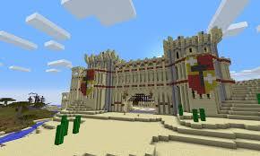 minecraft gate. PcA Sandstone Castle Gate Design Minecraft