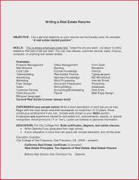 Resume Profile Samples Lovely General Resume Objective Statements