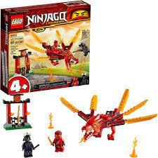 LEGO 2020 CHÍNH HÃNG NINJAGO - LEGO RỒNG LỬA CỦA KAI - 71701