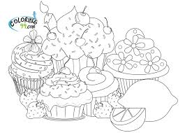 Small Picture online Cupcake Coloring Pages Enjoy Coloring Kids Pinterest