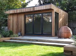 summer house office. Summer House Office. Cedar Summerhouse In Barnet With Grey Bi-fold Doors Office