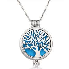 whole flower life pendants australia hot 3 colors tree of life aromatherapy necklace for