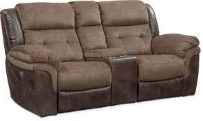 wayfair brown loveseats abruzzo leather reclining loveseat
