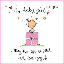 A Baby Girl May Her Life Be Filled With Love And Joy