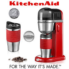 kitchenaid personal coffee maker empire red