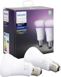 Philips Lighting Hue Led Light Bulb Pack Of 2 White And Color