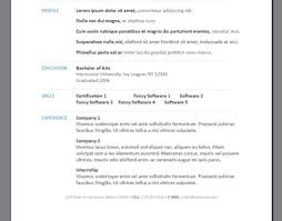 Resume Awesome Free Printable Resume Builder 40 Best Free Resume