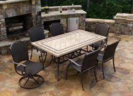stone patio tables ideas homesfeed in outdoor table design 17